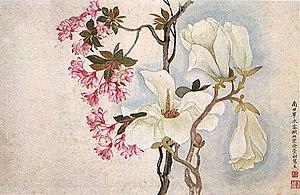 Yun Shouping - Image: Yun Shouping, Magnolias