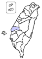 Yunlin County location.png