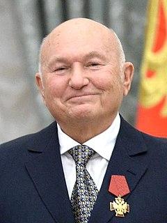 Yury Luzhkov Russian politician