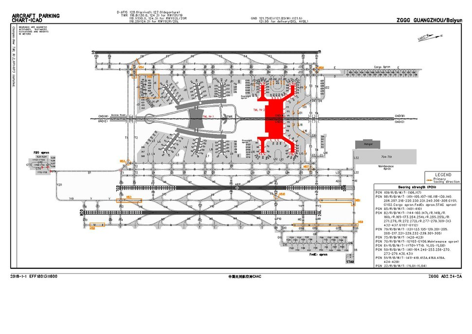 CAAC airport diagram