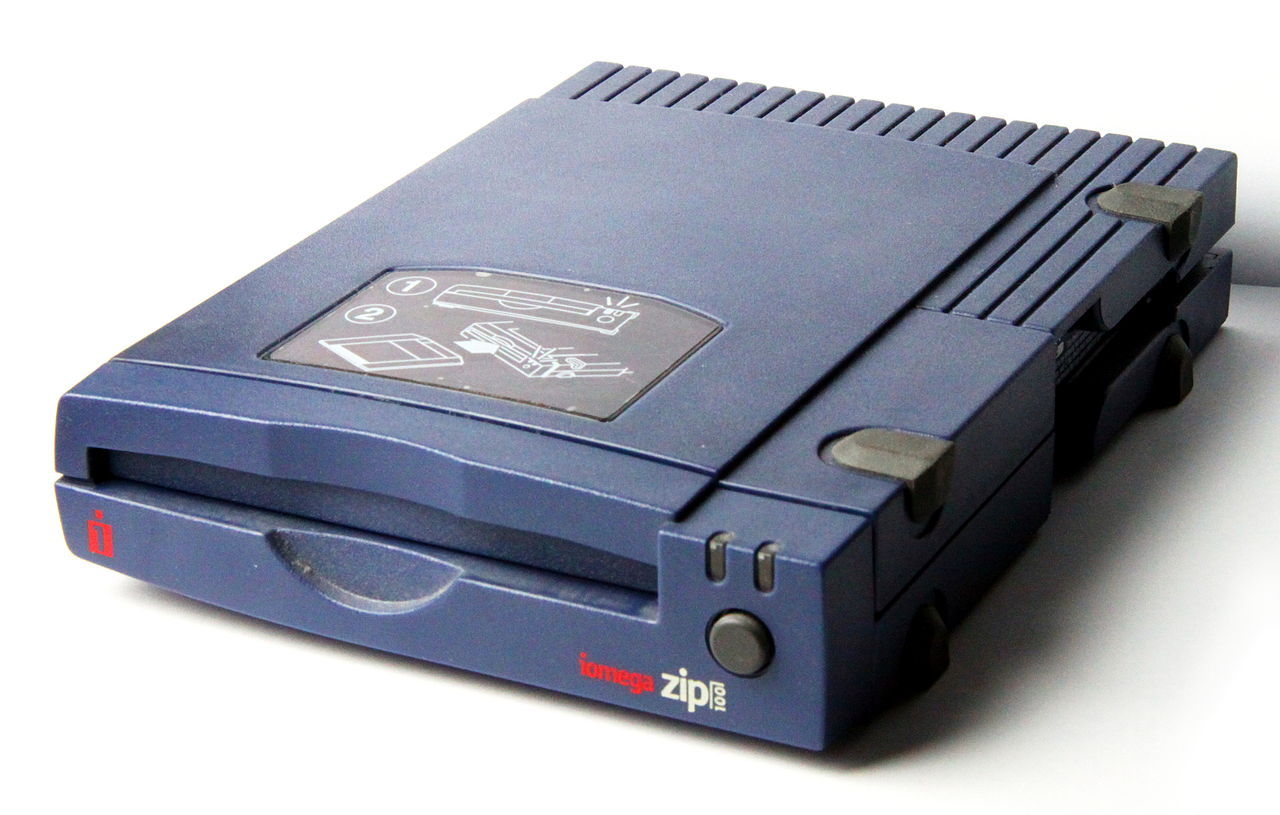 Iomega parallel zip drive