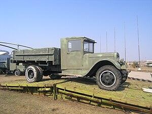 Ural Automotive Plant - UralAZ-produced ZIS-5 in Togliatti Technical Museum