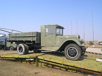 Ural Automotive Plant - UralAZ-produced ZIS-5 in Togliatti Technical Museum