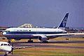 ZK-NCH B767-319ER Air New Zealand (old c-s) SYD 06JAN99 (6763081305).jpg
