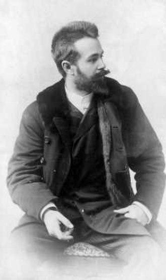 György Zala (sculptor) - György Zala, 1887, photographed by Sándor Strelisky