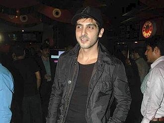Zayed Khan - Zayed Khan at the premiere of Mod.