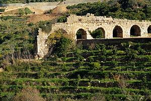 Mansourieh - Aqueduct of Zubaida, Mansourieh