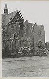 zicht vanuit het noordwesten met schade na oorlogshandelingen - breda - 20326237 - rce