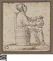 Zittende boer met een kruik in de handen, circa 1610 - 1670, Groeningemuseum, 0041505000.jpg