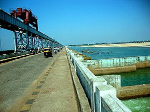 Mahanadi - Zobra bridge view