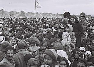 Maabarot Israeli refugee absorption camps housing Olim.