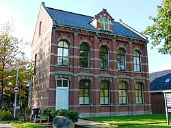 Former courthouse in Zuidhorn