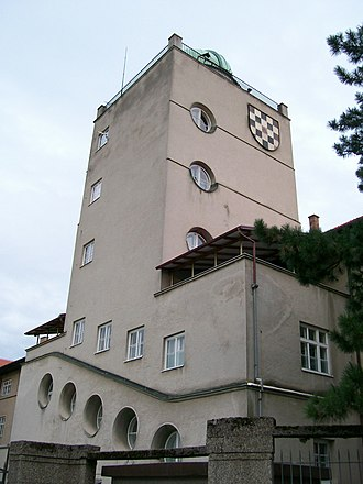 Archdiocesan Classical Gymnasium (Zagreb) - The observatory