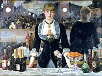 MANET Edouard Bar at the Folies-Bergère 1881-1882