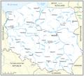 File Flusse In Polen Karte Png Wikimedia Commons