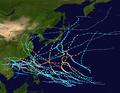 1953 Pacific typhoon season