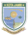 File Lambang Kota Jambi Png Wikimedia Commons