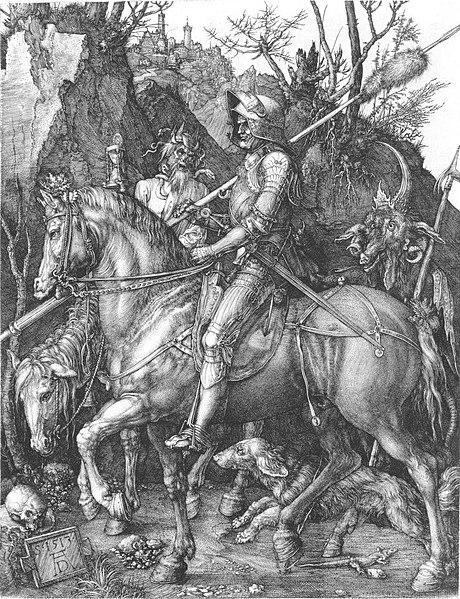 Ritter, Tod und Teufel - Albrecht Dürer, 1513