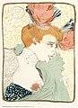 File lautrec mademoiselle marcelle lender profile 1895 - Mademoiselle marcelle ...