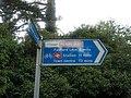 """The Pearl Way"" - Cycle Aylesbury bicycle route towards Aylesbury Town Centre - geograph.org.uk - 2040904.jpg"