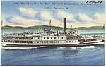 """The Ticonderoga"" -- the last sidewheel steamboat in New England still in operation.jpg"