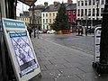 """Vote Eoghan"", High Street, Omagh - geograph.org.uk - 1081457.jpg"