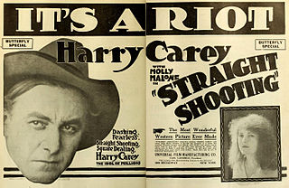 <i>Straight Shooting</i> 1917 film