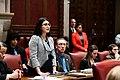 (03-29-19) NY State Senator Jessica Ramos during Senate Session at the NY State Capitol, Albany NY.jpg
