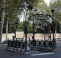 Édicule Guimard Station métro Chardon-Lagache.jpg
