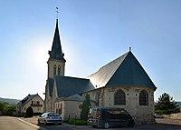 Église Saint-Germain du Breuil-en-Auge. Vue est.jpg