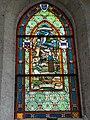 Église Saint-Victor d'Artenay (Loiret) vitrail St.Jeanne d'Arc 02.JPG