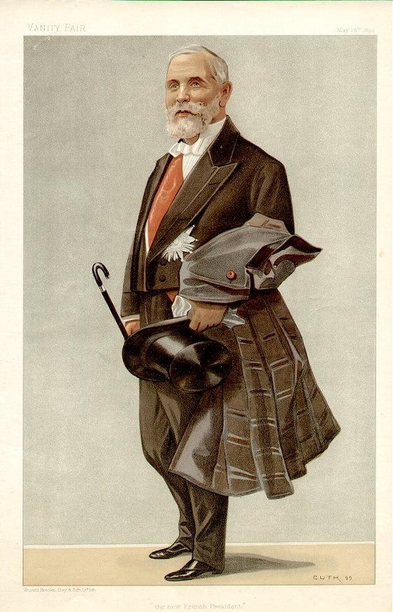 Émile Loubet Vanity Fair 1899-05-18