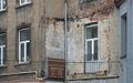 Łódź ul Piotrkowska ślad po usuniętej kuczce 2011 MZW 2089.JPG