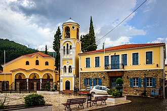 Xanthi - Church in Mitropoleos Square