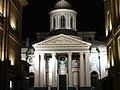 Армянская церковь св. Екатерины, ночное освещение, 2014 - 2.jpg