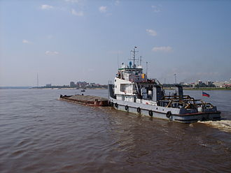 Blagoveshchensk - The Amur River in Blagoveshchensk