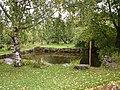 Водоем в саду; Воскресенский скит, Валаамский монастырь.jpg