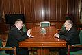 Встреча Президента Татарстана Минтимера Шаймиева с Героем России Ильясом Дауди, февраль 2010 г 2.jpg