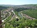 Изглед към Главната порта и хълма Трапезица.jpg