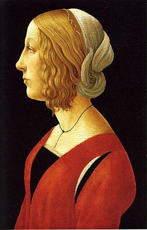 Lucrezia de' Medici (1470–1553) - Image: Лукреция Мария Ромола Медичи