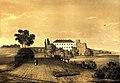 Наполеон Орда. Вид на Клеванський замок.jpg