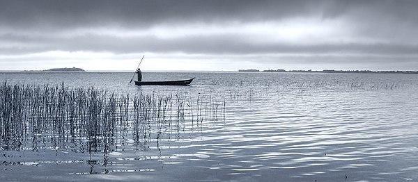 Озеро Світязь на світанку, © Павло Мокрицький, CC-BY-SA 3.0