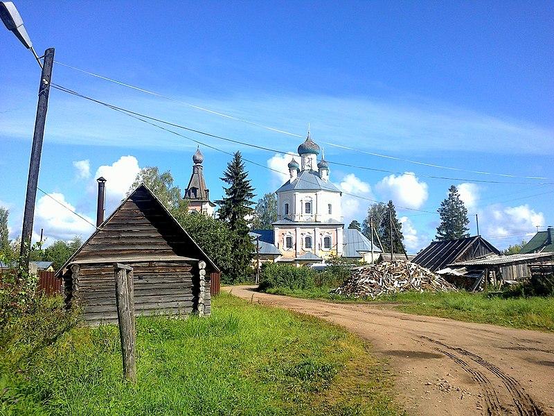 File:Осташковский район, Рогожа, Преображенская церковь.jpg