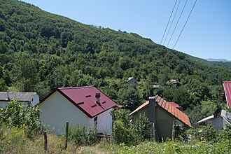 Burinec - View of the village Burinec