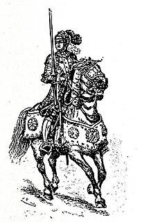 15th-18th century French cavalry unit designation