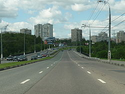 Севастопольский проспект южнее ул. Островитянова
