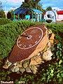 Сонечны гадзіннік недалёка ад майго дому ... Sundial near my home - panoramio.jpg