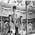 אורון נושאים- 1) מלכת חבש עם הנסיכה טסאי והנסיך מקונן בעת ביקורה בירושלים ובחנ-PHO-1355163.png