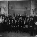 הקונגרס הציוני התשיעי בהמבורג (1909 ) נשיאות הקונגרס בצירוף אורחים יושבים ( -PHG-1002789.png