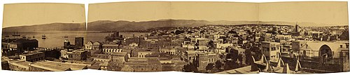 A panorama of Beirut dating back to the 19th century.